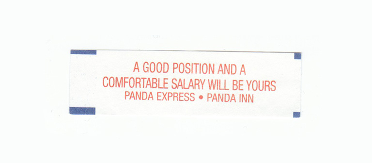 A good position and a comfortable salary will be yours